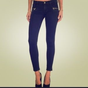 Hudson Super Skinny Chimera Ankle ZIP Jeans SZ 29